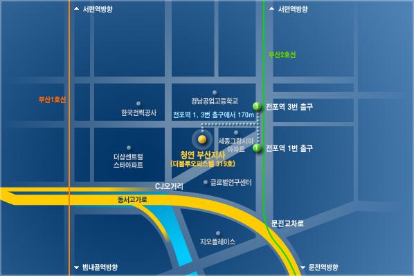 CHUNGYEON Busan Branch Location